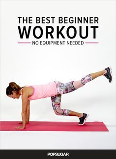 The Best Beginner Workout | Posted By: AdvancedWeightLossTips.com Strength Training For Beginners, Strength Training Workouts, Best Beginner Workout, Workout For Beginners, Mundo Fitness, 15 Minute Workout, Sup Yoga, Best Weight Loss Plan, Fitness Design
