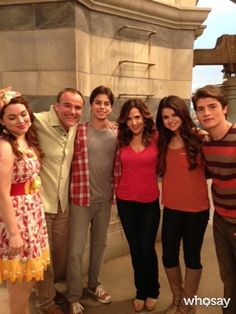 "David Deluise's, photo,""Hey @elena Gomez @David Henrie @Jake Donohoe T. Austin @Gregg Tarter Sulkin…"""