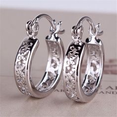 Classic Round Hoop Earrings Classic Open Round Hoop Earrings. Small. High Quality E400 Stainless. #0325 Jewelry Earrings