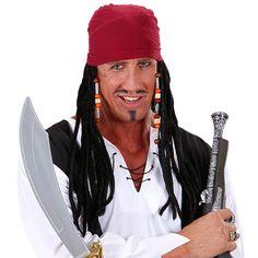 Peluca de Pirata #pelucasdisfraz #accesoriosdisfraz #accesoriosphotocall