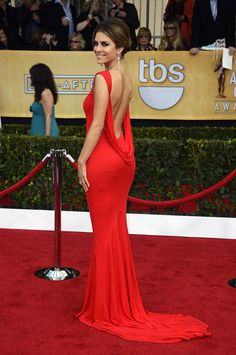 Maria Menounos in Randi Rahm at the Screen Actors Guild Awards (SAG Awards)