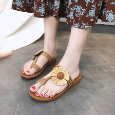 3e4ea333c6939 Sunflower Shoes Women Sandals Flip Flops