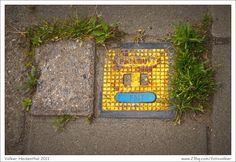 Manhole cover face