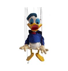 Rare Vintage 1950s Walt Disney Donald Duck by TheLittleWhiteHare