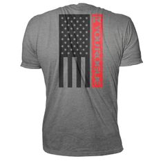 R You Rogue Flag Shirt - Grey - Rogue Fitness