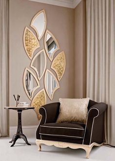 Top 15 Decorative Mirror Designs There are many different mirror designs. You will find below a few examples. We share with you, decorative mirrors in this photo gallery. The post Top 15 Decorative Mirror Designs appeared first on Decor Ideas.Home Decor I Design Living Room, Living Room Paint, Living Room Decor, Living Rooms, Home Decor Furniture, Luxury Furniture, Furniture Design, Furniture Makers, Furniture Removal