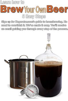 Learn  To Brew Your Own Beer