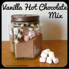 Thermomix vanills hot chocolate