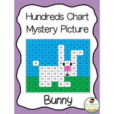 Hundreds Chart Mystery Picture -Bunny