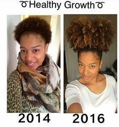 2 yrs Of Hair Growth And Still Growing IG:@hvirluv #naturalhairmag