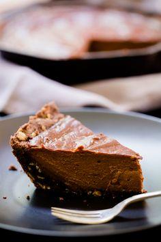 Sea Salt and Chocolate Skillet Sugar Pie Recipe