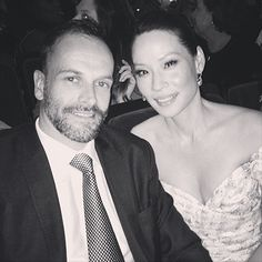 Jonny Lee Miller & Lucy Liu, my favourites from Elementary.