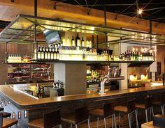 Del Frisco's NY Bar Design