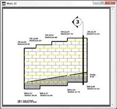 The Ultimate Design Tool For Segmental Retaining Walls   AB Walls For  Professional Designs