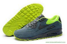 Masculino Nike Air Max 90 Escuro Verde Amarelo venda de chuteiras