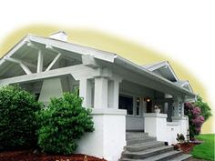 A house similar in style and color to ours.