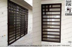 Grill Gate, Door Grill, Climbing Wall Kids, Window Grill Design, Ideas Para, Sweet Home, Exterior, Windows, Doors