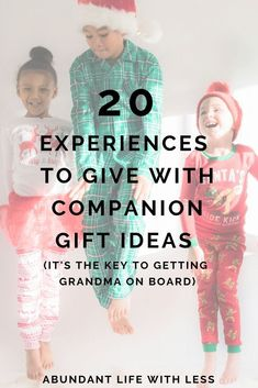 Curb the Clutter, Cut the excess, Give experiences over things | 20 Experience Gift Ideas | Minimalist Gift Ideas for Kids | How to Get Grandparents to Give Fewer Gifts | Raising a Minimalist Family | #minimalism #essentialism #minimalistfamily #minimalistmom