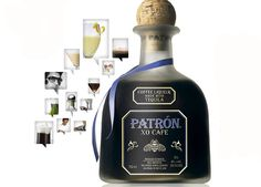 1 part Patron XO Cafe, 1 part white creme de cacao, 1 part half and half. Shake over ice and strain into a martini glass. AMAZING.