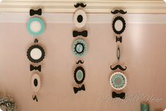 I Heart Pears: Little Man Baby Shower - mustaches and bow ties
