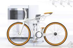 omer sagiv uses selective laser sintering for luna nylon bicycle frame