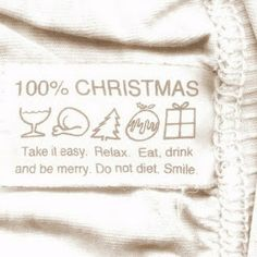 it easy. Eat, drink and be merry. Do not diet.Take it easy. Eat, drink and be merry. Do not diet. Noel Christmas, Christmas Is Coming, Christmas And New Year, Winter Christmas, Christmas Cards, Christmas Decorations, Christmas Lights, Christmas Puns, Christmas Trends