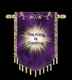 The King is coming, praise God He's coming for me - I can hear the trumpets sounding, I can see His mighty hand, I can see his face is shining down on our land - if you do not know him now is the time to ask Him in your heart so He will take you with him - HE is definitely coming - all the signs are here - are you ready!?!