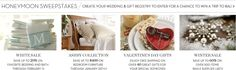 Valentine plates from Pottery Barn