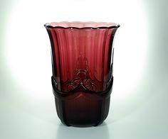 Val St Lambert Luxval  Vase Olympic - modèle 95 - 1935