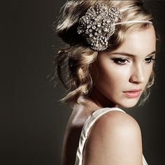 Thrift Trick My 1920 S Hair Inspiration For The Lumber Baron Ball 1920s Headpiece