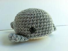 Amigurumi Crochet Heather Gray Whale Plush Toy Kawaii Plush Whale Nursery Decor Gift Under 25 Stuffe