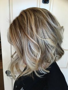 Ready for Fall? Winter is coming!!!Soft smokey blonde! Highlights and low-lights using Redken Color Gels and Shades EQ.