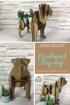 Funny Boyfriend Gifts, Boyfriend Humor, Funny Pug Pictures, Unusual Birthday Gifts, Cardboard Sculpture, Anniversary Gifts For Him, Wedding Paper, Inspirational Gifts, Dog Gifts