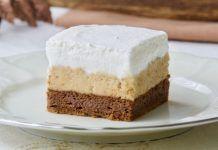 """Prăjitură """"Delicată"""" cu frişcă si cremă de ness Vanilla Cake, Cheesecake, Food And Drink, Desserts, Cakes, Instagram, Tailgate Desserts, Deserts, Cake Makers"""