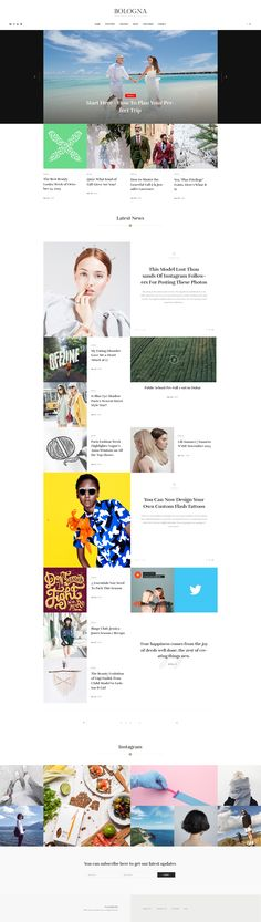 Bologna – Magazine Blog WordPress Theme - Responsive by Beautheme   ThemeForest