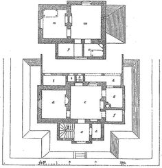 Olde English Cottage House Plans In The Victorian Era.