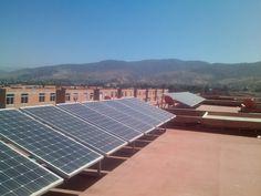 Nosotros te capacitamos en energía solar fotovoltaica  Tel 51 6 77 03