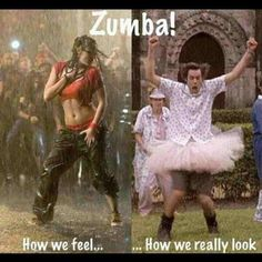How I feel when I Zumba, what I look like when I Zumba! So true! But I love Zumba anyway! Jim Carrey, I Smile, Make Me Smile, Demotivational Posters, All That Matters, Friday Humor, Funny Friday, Humor Grafico, I Work Out