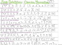 Moon Salutations - Chandra Namascar