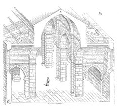 Architecture Religieuse, France, Medieval Fantasy, Kirchen, Gothic, Architectural Drawings, Castles, Environment, Sketch