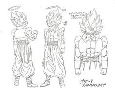 Dragon Ball Art Concepts Model Sheets.  provided by: www.kamisama.com.br - Visit now for 3D Dragon Ball Z compression shirts now on sale! #dragonball #dbz #dragonballsuper