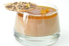 Chocolate Mousse with Passion Fruit Liquor
