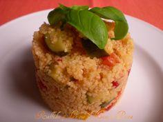 Couscous alle verdure,ricetta leggera http://blog.giallozafferano.it/raffikaelesuemaniinpasta/couscous-alle-verdure-ricetta-leggera/
