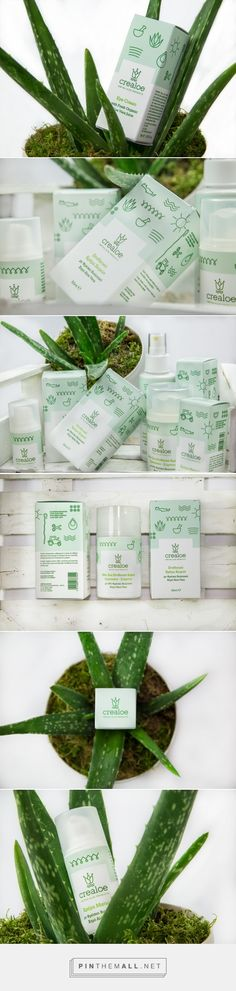 Crealoe | cosmetics - Packaging of the World - Creative Package Design Gallery - http://www.packagingoftheworld.com/2018/01/crealoe-cosmetics.html