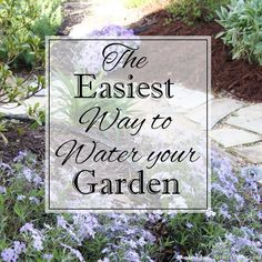 Easy way to water your garden