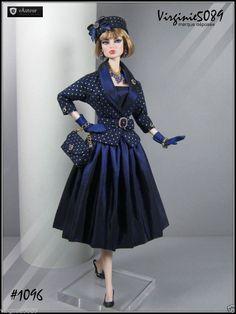Tenue Outfit Accessoires Pour Fashion Royalty Barbie Silkstone Vintage 1096 | eBay