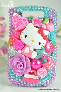hello kitty deco phone case