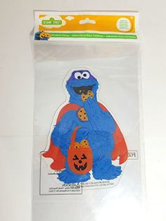 Halloween Window Gel Jelz Clings Cookie Monster *** Visit the image link more details.  This link participates in Amazon Service LLC Associates Program, a program designed to let participant earn advertising fees by advertising and linking to Amazon.com.