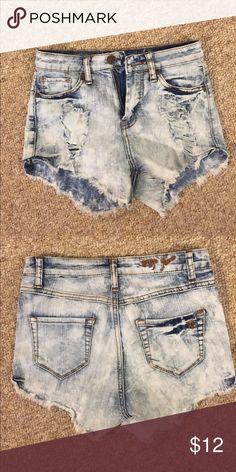 Jean shorts Blue jean cut up shorts Shorts Jean Shorts