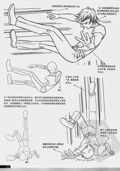 [Descarga] Dibujar Gestos y Movimiento en Personajes Manga.